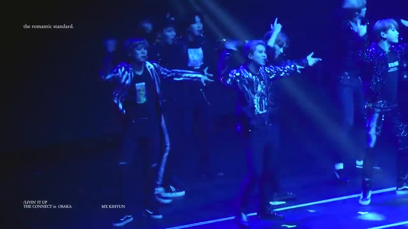 [VK][181010] MONSTA X fancam - Livin' it Up (Kihyun focus) @ The 2nd World Tour: The Connect in Osaka