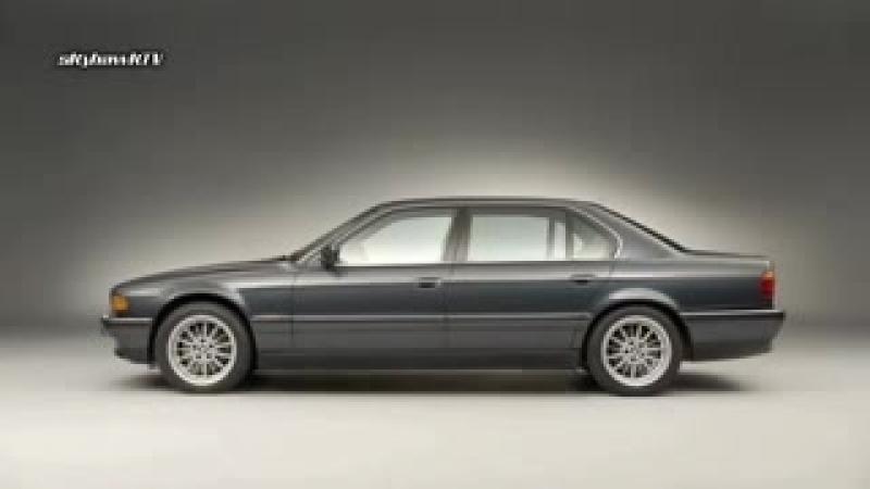 Эволюция БМВ 7 - Серии (BMW 7 Series - Design History Evolution Morphing Vid.mp4
