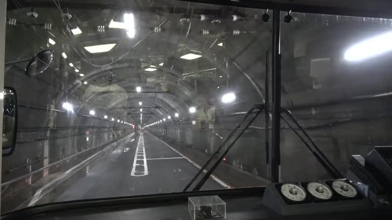 アルペンルート4K前面展望 東芝VVVF搭載の関電トロリーバス%E3%80%80扇沢→黒部ダム