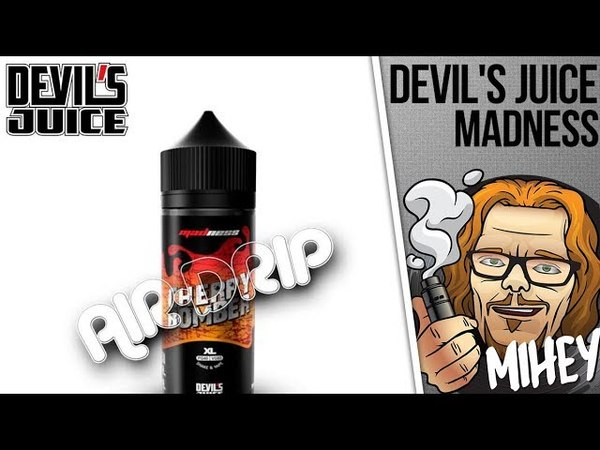 Жидкость Madness от Devil's Juice - Air Drip. Летняя Малайзия. 🍐🍑🍒🍓
