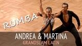 Andrea Silvestri &amp Varadi Martina Румба GOC2018 GrandSlam LATIN - 5тур