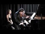 Julian Rachlin plays Lera Auerbach Sonata for Violin and Piano No. 3 - Part 1