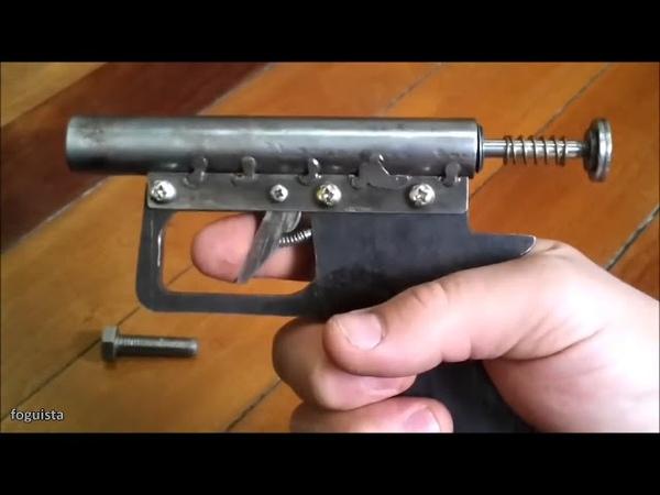 Súng pháo sức mạnh khủng của súng pháo - Chế tạo đơn giản 2018 - Kênh tổng hợp