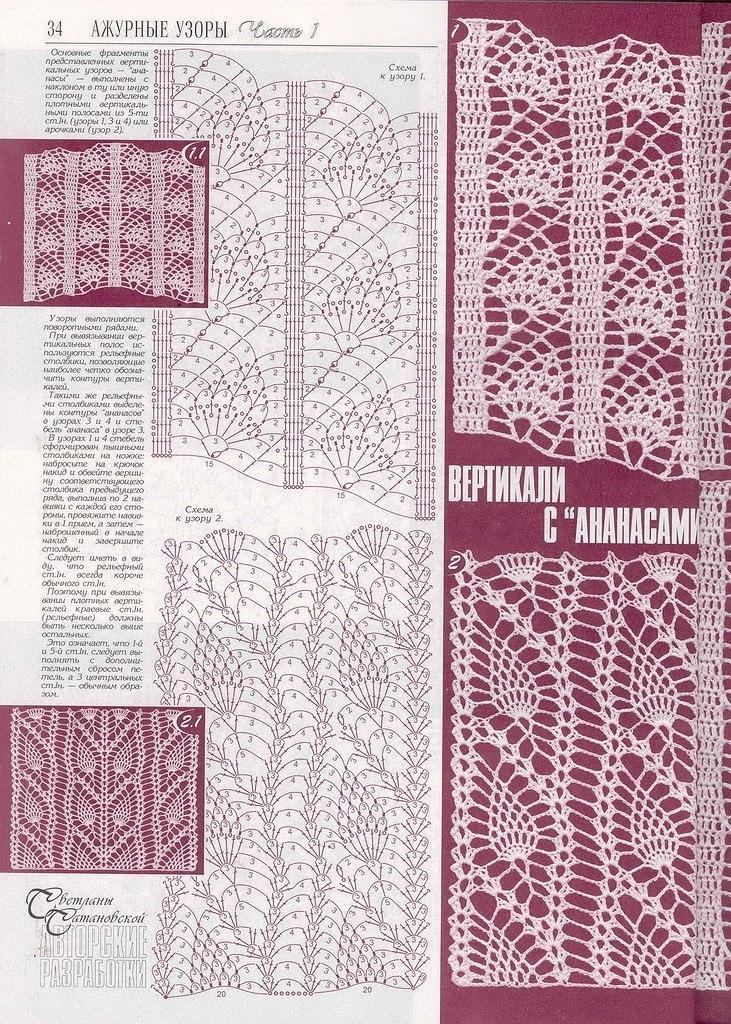 原始的镂空网状花纹图案(后叫菠萝纹) - maomao - 我随心动