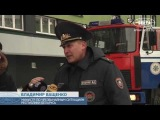 Учения МЧС с использованием новой техники прошли в Минске