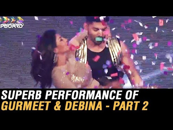 Superb Performance Of GURMEET AND DEBINA For NEW YEAR PARTY 2018 PART 02
