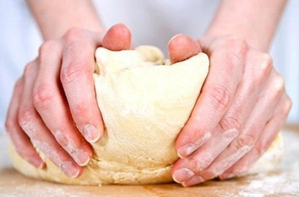Тесто для вареников на горячей воде
