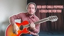 RED HOT CHILLI PEPPERS (RHCP) - I Coud Die For You COVER