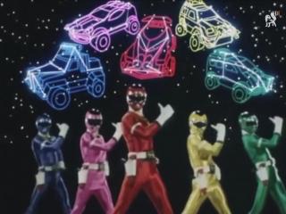 [dragonfox] Naritaka Takayama - Gekisou Sentai Carranger (RUSUB)