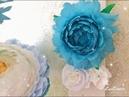 Делаю фото зону с цветами из гофро. бумаги 1 часть