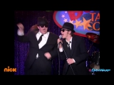 "Drake Bell and Josh Peck perform as the Blues Brothers! _ ""Drake Josh"" _ Dan Soul man"