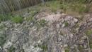 Рачейский бор, каменный лес, на вершине