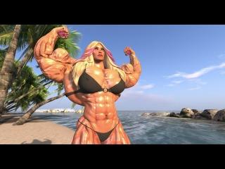SL Female Muscle: New Body by Dev & Lanfer (Tigersan)