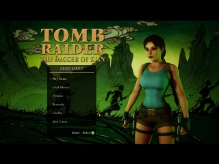 Tomb Raider and the Dagger of Xian)
