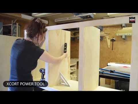 XCORT power tools Building a Double Sink Bathroom
