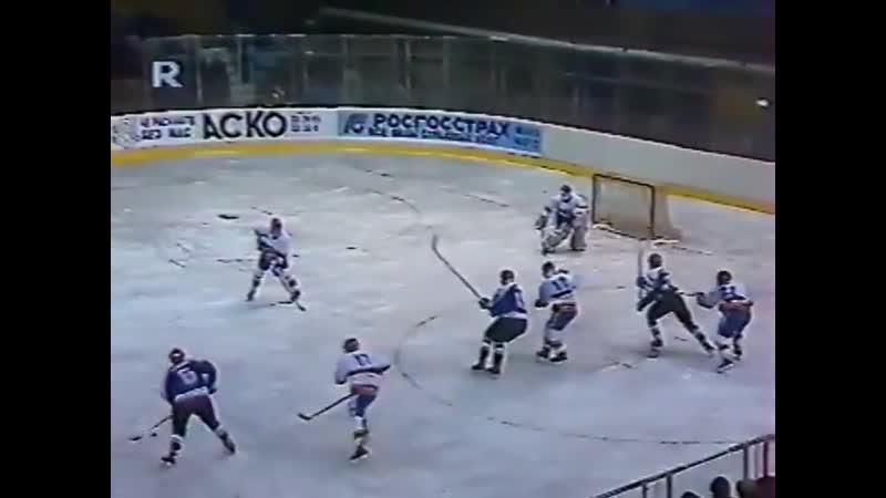 Трактор Челябинск - Автомобилист Екатеринбург 7-3. Межнациональная хоккейная лига. 1992-1993