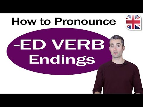 Oxford Online English 0006 - Pronunciation Lesson 0006 How To Pronounce -ED Verb Endings