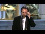Jan A.P. Kaczmarek winning Oscar for Finding Neverland