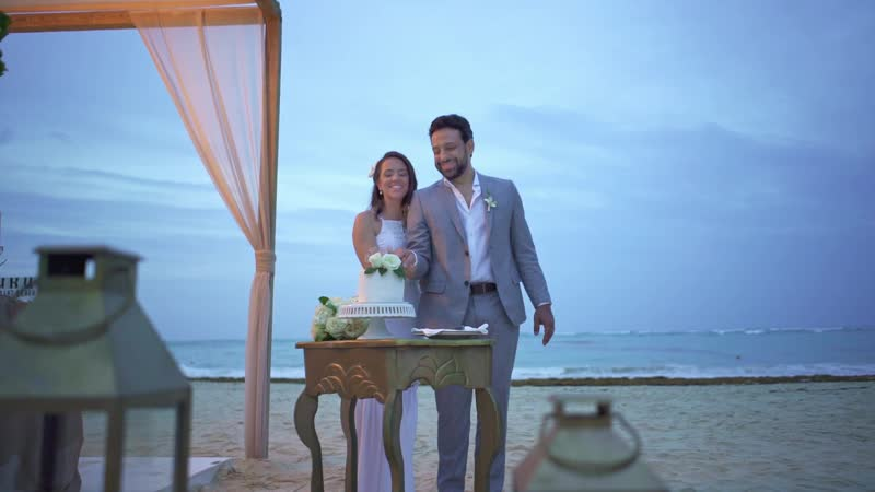 Nayane Murilo Romantic Elopement at Kukua Punta Cana