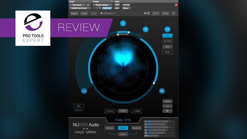 Nugen Audio Halo Upmix Plug-in Preview