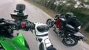 Drag Race - 2015 Kawasaki Z1000 VS 2007 Ducati Monster S4R Testastretta