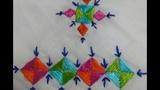 16-Closed Herring bone or Fishbone stitch(Macchi tanka).....HindiUrdu