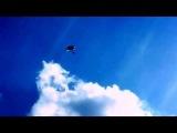 Прыжок с парашютом в честь первой женщины космонавта Валентины Терешковой. 16 июня исполняется 50 лет со дня полета в космос первой в мире женщины-космонавта Валентины Терешковой