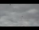 Посадка спортсменов парашютистов