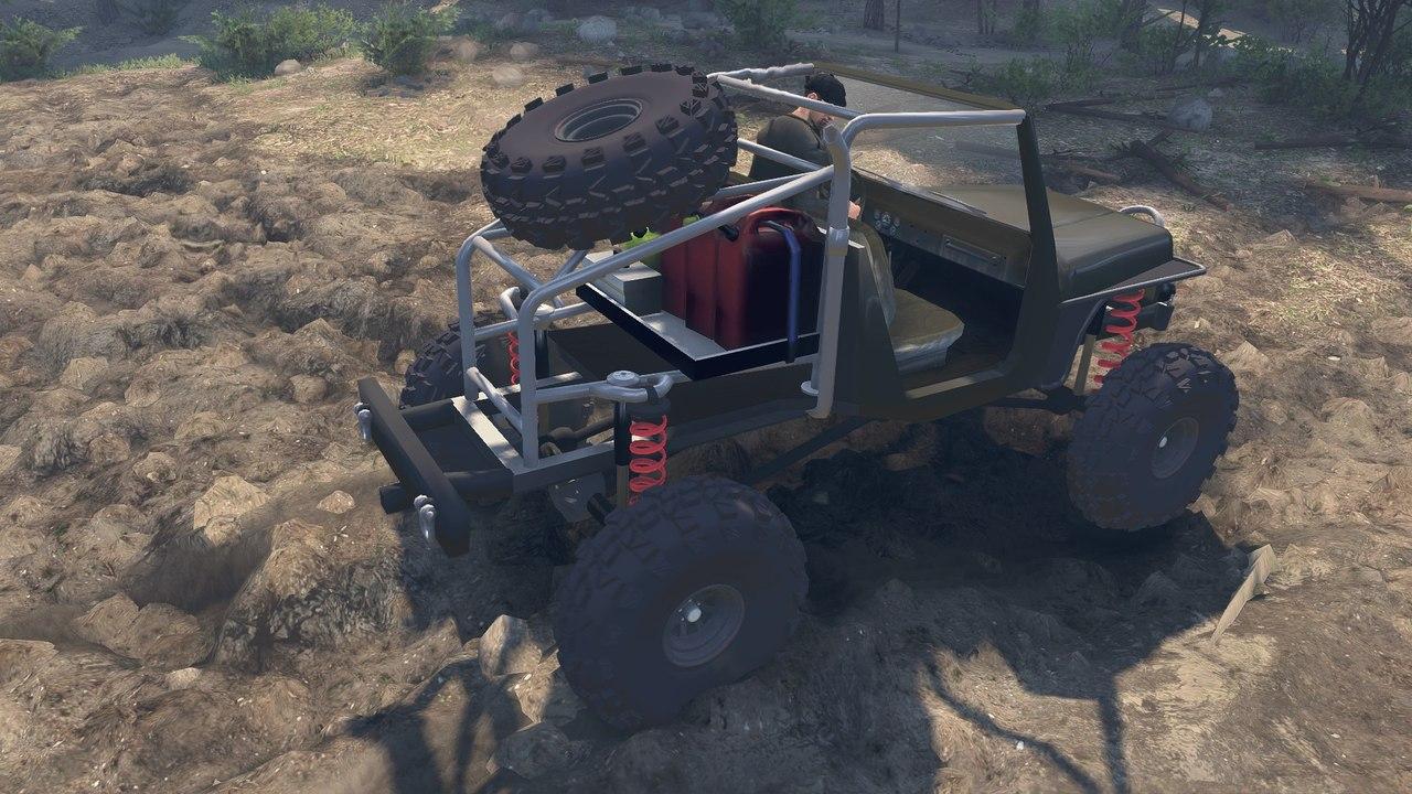 JK8 Crawler для 23.10.15 для Spintires - Скриншот 2