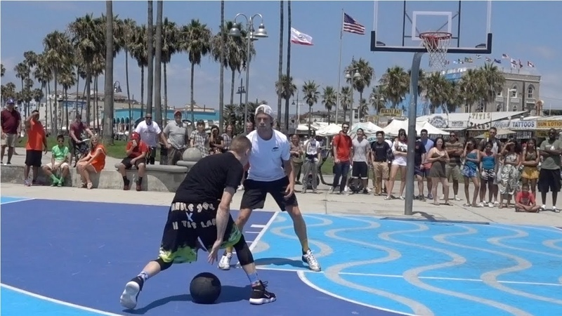 The Professor and Bone Collector Taking ANKLES at Venice Beach. EPIC Scenery