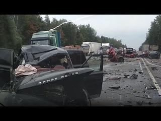 Массовая авария на Минском шоссе