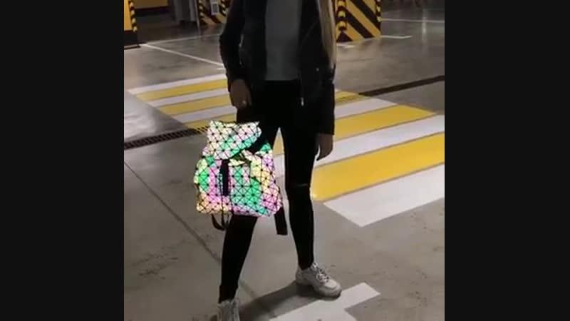 Светоотражающий Рюкзак хамелеон