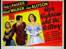 Her Highness and the Bellboy 1945 Hedy Lamarr, Robert Walker, June Allyson