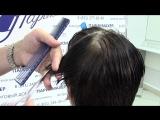 Мастер-класс от Алексея Лаврентьева Женская стрижка со сложным ростом волос