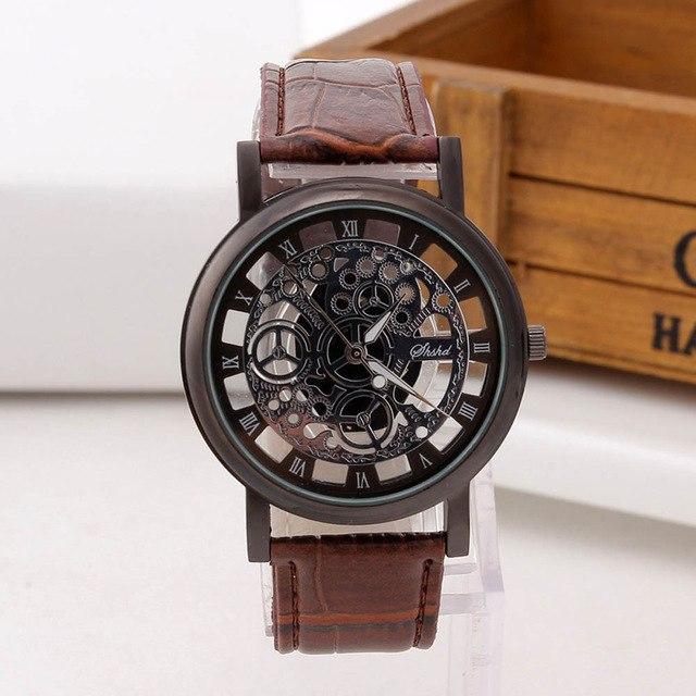Часы с прозрачным циферблатом 259