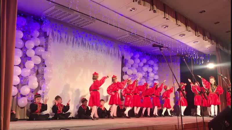 КАЛМЫКСКИЙ танец Шарка барка
