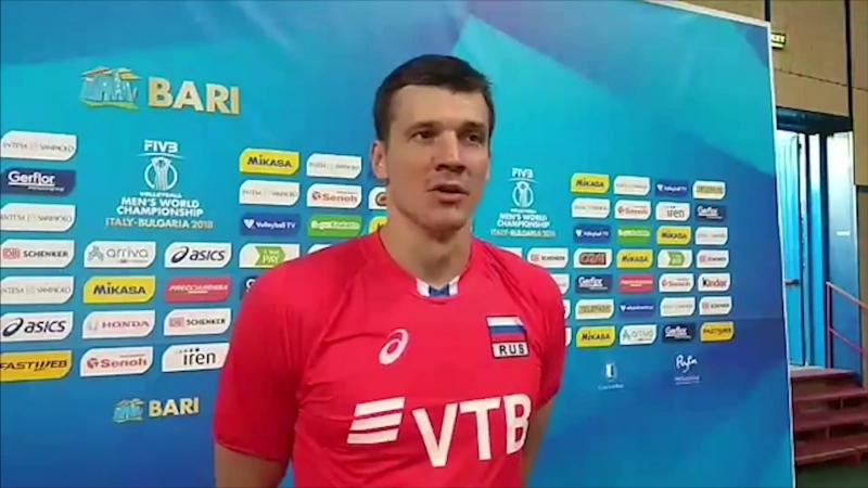 Блиц-интервью Юрия Бережко после матча с Австралией