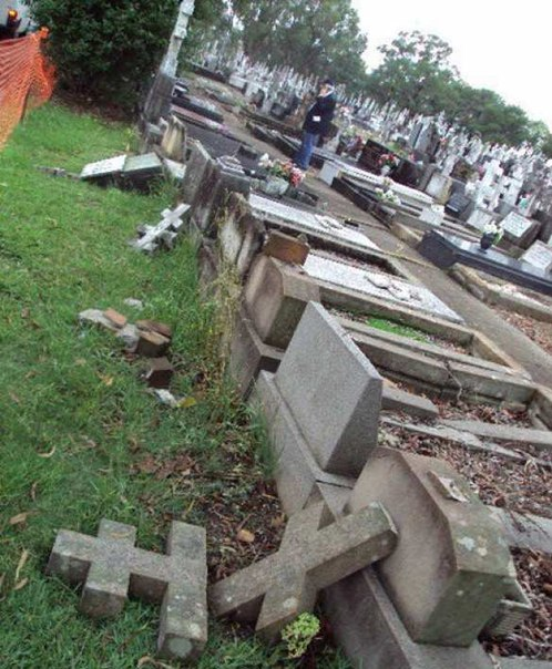 В Сиднее осквернили могилы русских эмигрантов