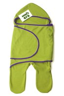 """Комбинезон-конверт трикотажный  """"Зеленый/фиолет """".  Хлопковый комбинезон-конверт (100% хлопок)..."""