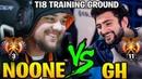 No o ne Shadow Fiend vs GH Dark Willow Hearts of Misrule TI8 Training Ground