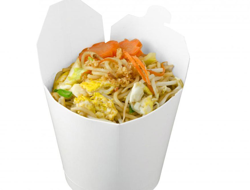 Китайская еда - самая популярная еда на вынос.