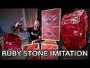 Вот Почему Эту Венецианку Сможет Сделать Даже Folgio Veneziano Wowcolor Ruby Stone Imitation