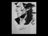 Sherlock Holmes drawing by Ksenia V.