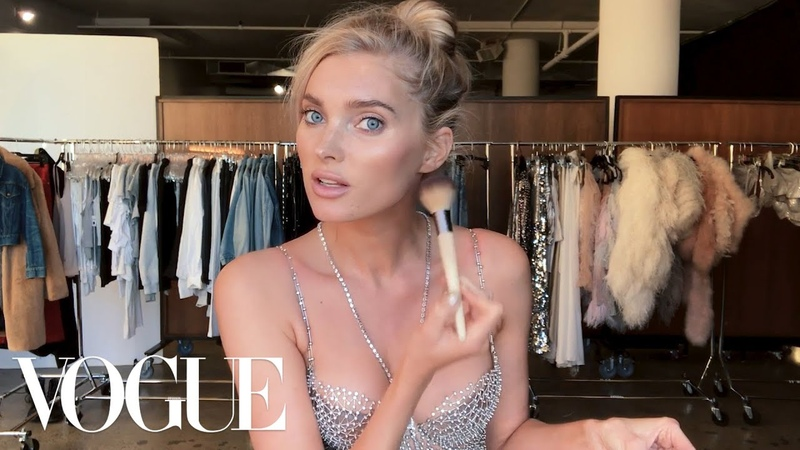 Elsa Hosk Unveils the Victoria's Secret Fantasy Bra Her Angel Makeup Look Beauty Secrets