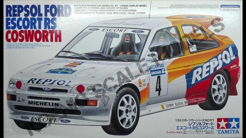 Repsol Ford Escort RS Cosworth Tamiya 1/24