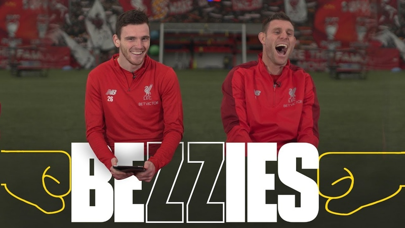 BEZZIES with Milner and Robertson | I had to phone my Dad for one of the answers