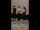 180804 Illang: The Wolf Brigade Stage Greetings MInho