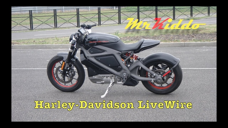Test Riding the Harley Davidson LiveWire Electric motorcycle prototype