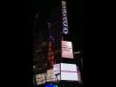 180623 Баннер в честь победы на музыкальном шоу SBS MTV The Show на Таймс-Сквере, Нью-Йорк