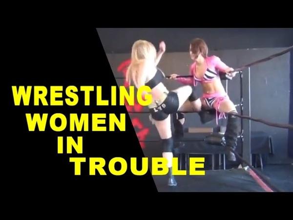 Wrestling Women in Trouble Vol 8 Remake